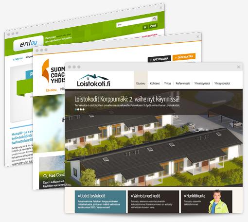 Web-suunnittelu ja verkkosivut